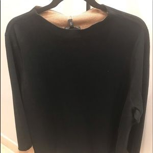 Eileen Fisher NWT two tone sweater